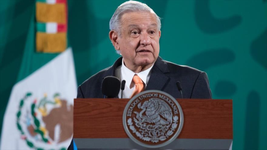 El presidente de México, Andrés Manuel López Obrador, durante una conferencia de prensa, 9 de septiembre de 2021. (Foto: Presidencia de México)