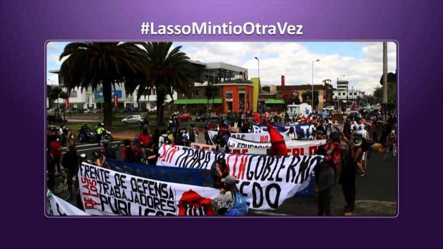 Etiquetaje: Guillermo Lasso mintió, así dicen los ecuatorianos