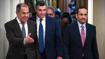 Lavrov le señala a Stoltenberg el fracaso de la OTAN en Afganistán
