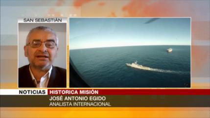 Egido: Paz y defensa, mensaje de misión de flota iraní en Atlántico