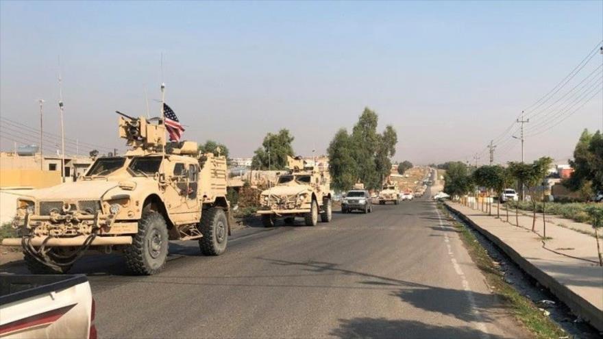 Un convoy de vehículos de EE.UU. en la ciudad de Duhok, Irak. (Foto: Reuters)