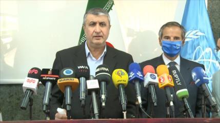 Irán y la AIEA logran acuerdo sobre material de vigilancia nuclear