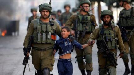 Israel arresta a 15 civiles palestinos, entre ellos 7 niños