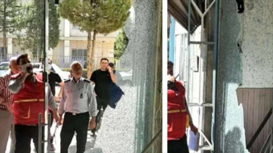 Equipos de evaluación han sido desplegados en zonas afectadas para estimar la severidad de los daños, 13 de septiembre de 2021. (Foto: Fars)