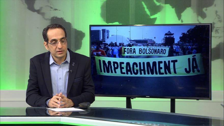 """Buen día América Latina: Protestas exigen """"impeachment"""" a Bolsonaro"""