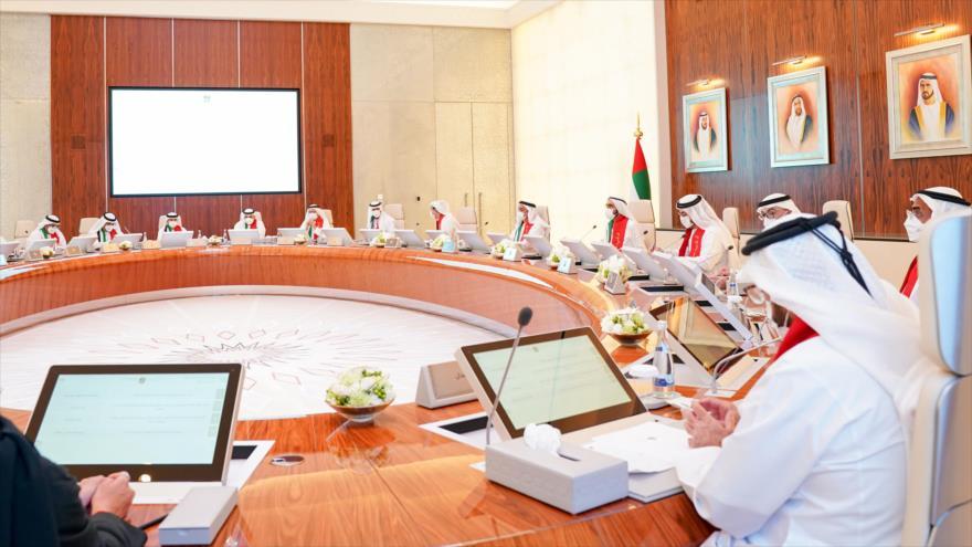 Una reunión del Gabinete ministerial de los Emiratos Árabes Unidos.