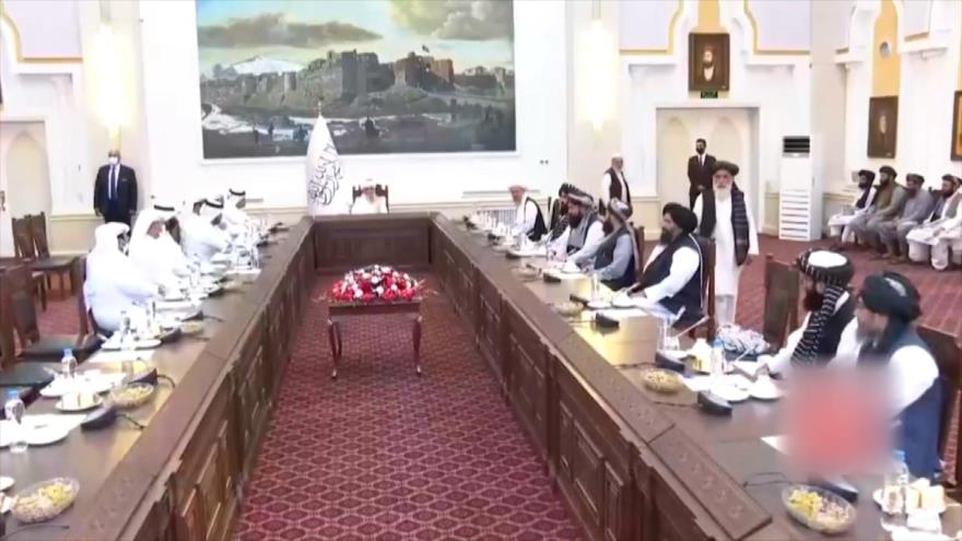 Canciller catarí llega a Afganistán para reunirse con los talibanes