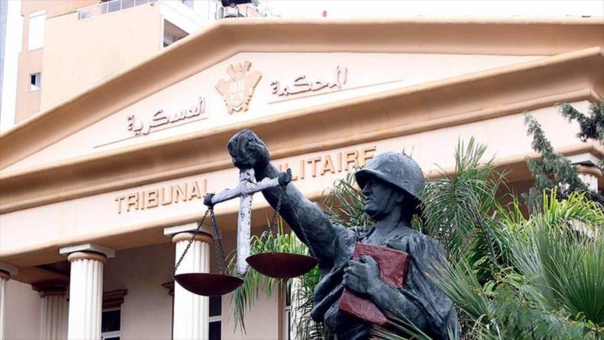 El Tribunal Militar libanés en Beirut, capital de El Líbano.