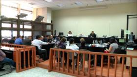Jueces guatemaltecos denuncian persecución para intimidarlos