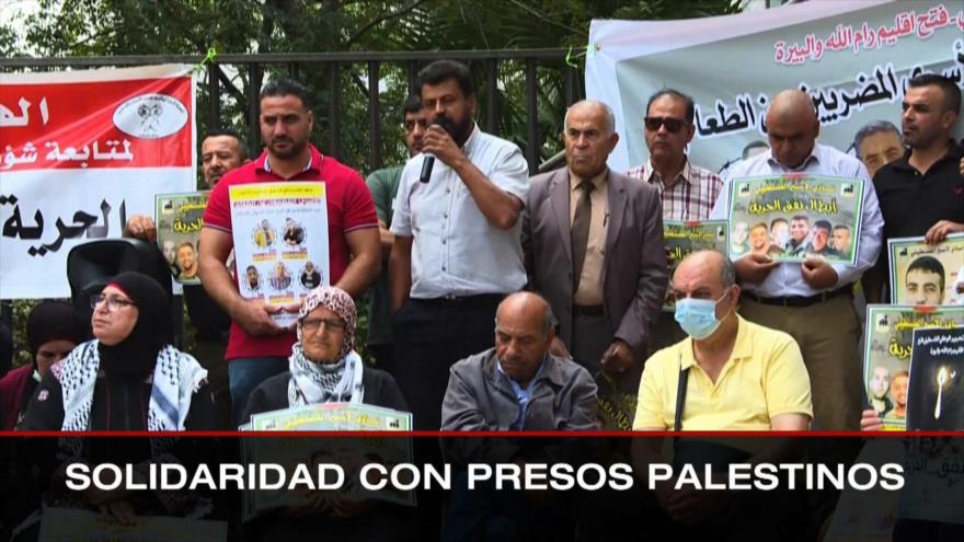 No a injerencia foránea. Solidaridad con presos palestinos. Mensaje electoral a Fernández - Boletín: 16:30 - 14/09/2021