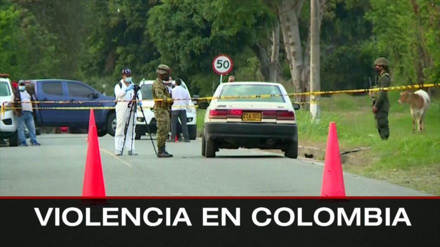 No a injerencia foránea. Presos palestinos. Violencia en Colombia - Boletín: 16:30 - 14/09/2021