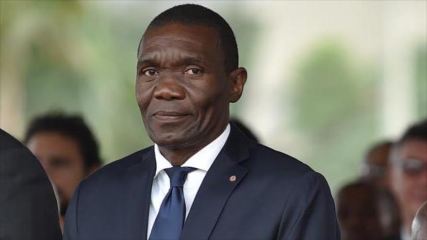El presidente de la Cámara Alta de Haití, Joseph Lambert.