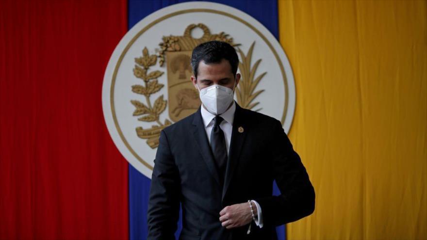 El líder opositor venezolano Juan Guaido asiste a una sesión de la Asamblea Nacional de Venezuela, Caracas, 15 de diciembre de 2020. (Foto: Reuters)