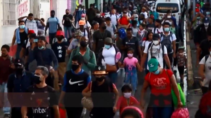 Inmigrantes, el gran problema de López Obrador y Biden