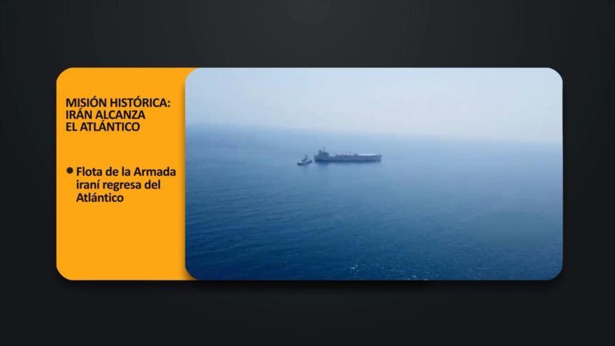 PoliMedios: Misión histórica: Irán alcanza el Atlántico