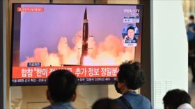 Corea del Norte lanza dos misiles balísticos hacia mar del Este