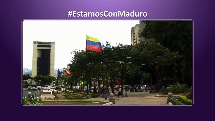 Etiquetaje: Los venezolanos apoyan a Maduro ante complots de EEUU