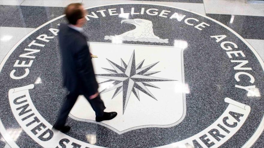 Vestíbulo de la sede de la Agencia Central de Inteligencia (CIA, por sus siglas en inglés) de EE.UU. en Virginia.