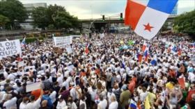 Vídeo: Miles se manifiestan en Panamá contra reformas electorales