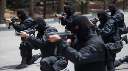 Irán desmantela a un equipo terrorista afiliado a extranjeros