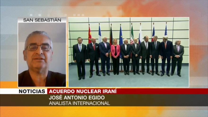 Egido: A EEUU y Europa les falta voluntad para salvar pacto nuclear