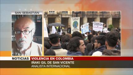 Iñaki Gil: Colombia es una sociedad basada en asesinato brutal