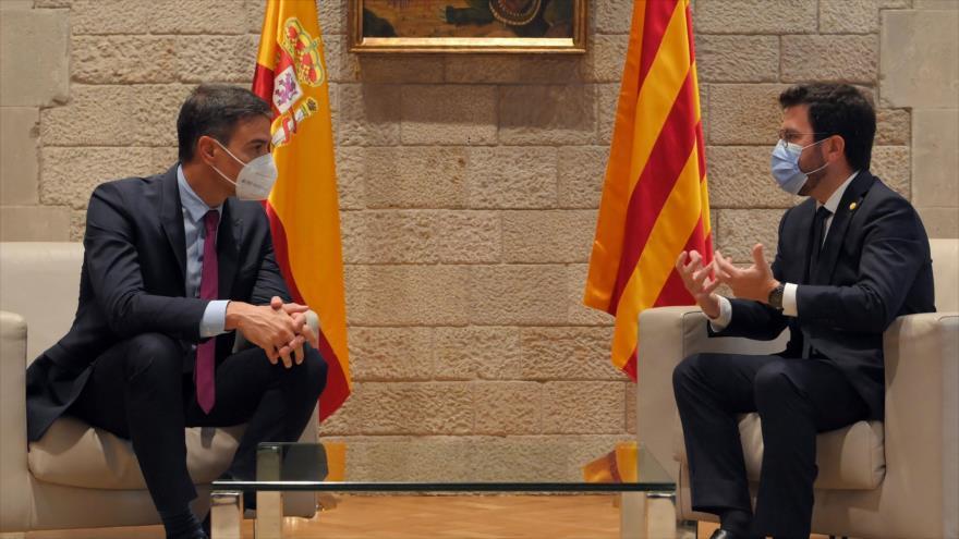 """Sánchez y Aragonés admiten que sus posiciones son """"muy distintas"""""""