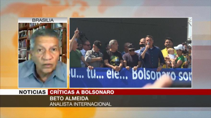 Almeida: Bolsonaro busca romper democracia de cara a reelección