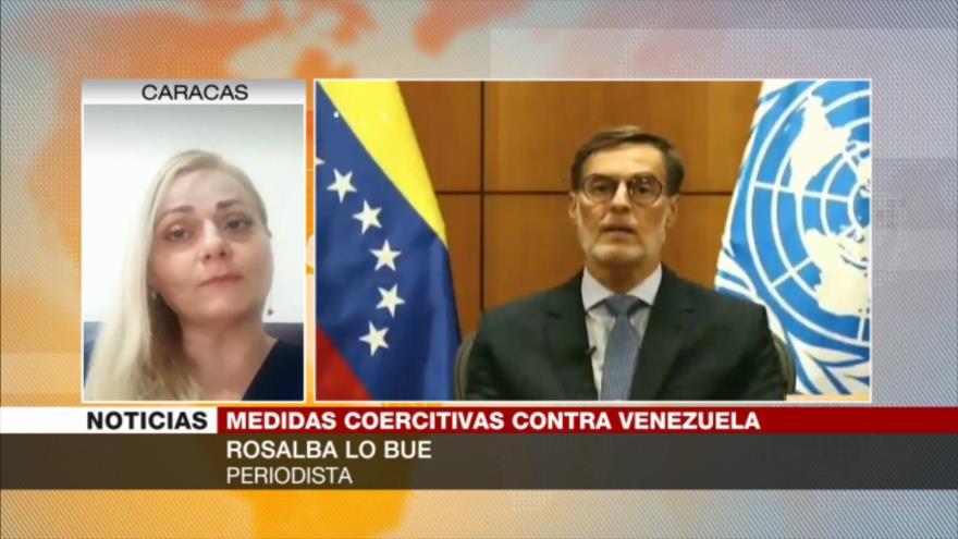 Lo Bue: Venezuela sufre por daños provocados por medidas coercitivas