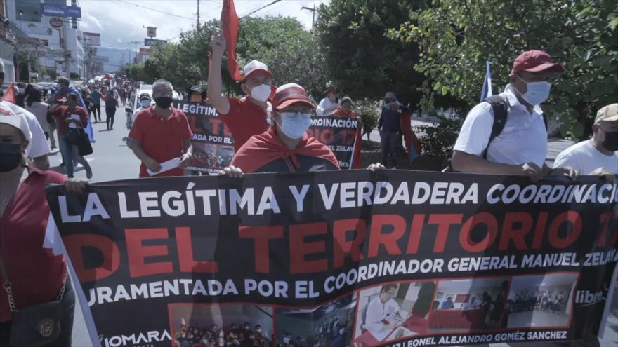 Exigen verdadera independencia en Honduras
