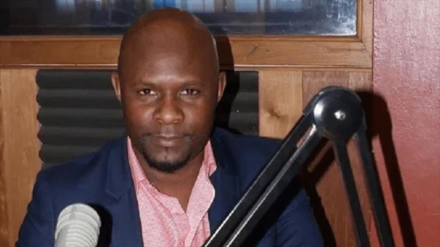 El secretario del Consejo de Ministros de Haití Renald Lubérice.