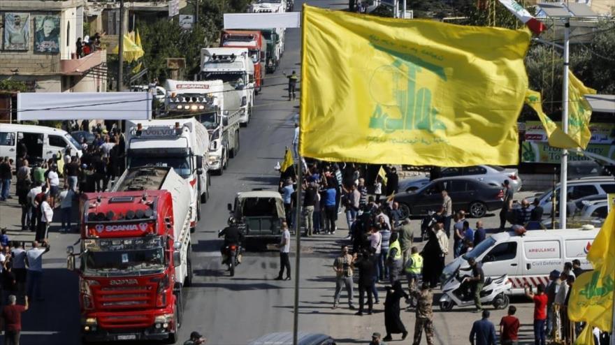 Combustible iraní llega por tierra desde Siria a El Líbano | HISPANTV