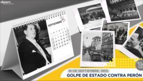 Esta semana en la historia: Golpe de Estado contra Perón