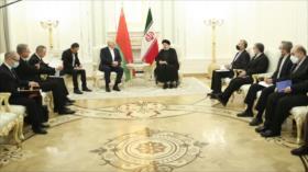 Raisi: Irán y Bielorrusia saben cómo superar las sanciones