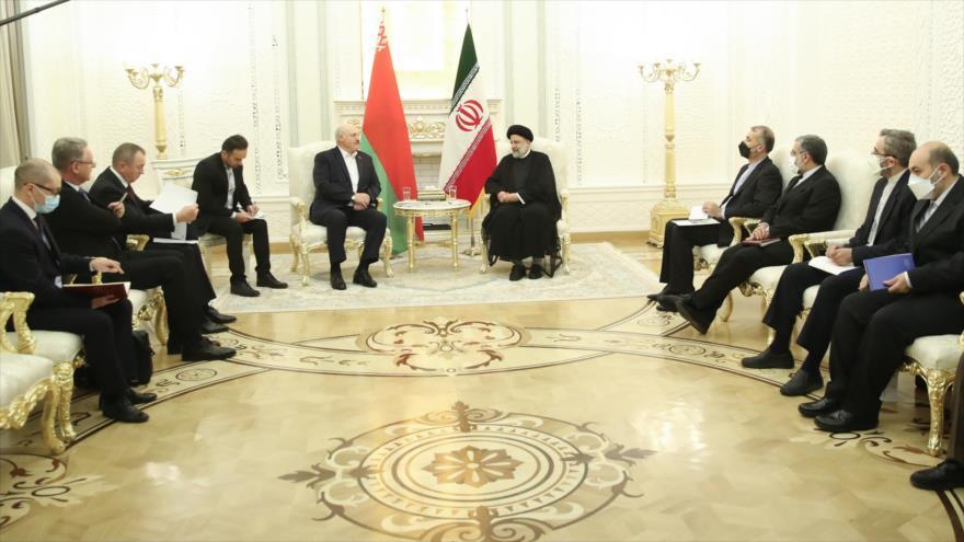 Raisi: Irán y Bielorrusia saben cómo superar las sanciones   HISPANTV