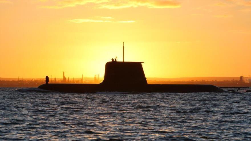 Un submarino diesel-eléctrico de la Armada Real de Australia.