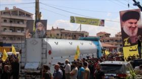 Envío de combustible iraní a El Líbano es victoria de Resistencia