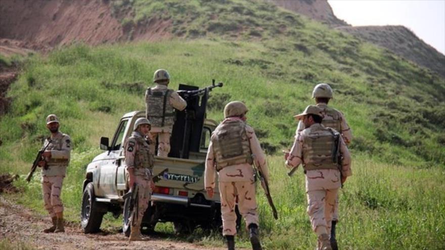 Guardias fronterizos de la Policía iraní en el noroeste del país. (Foto: Tasnim)