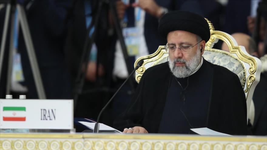 Raisi reitera en cumbre de OCS rechazo de Irán al unilateralismo