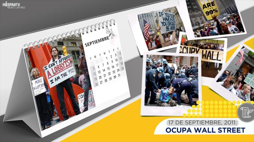 Esta semana en la historia: Ocupa Wall Street