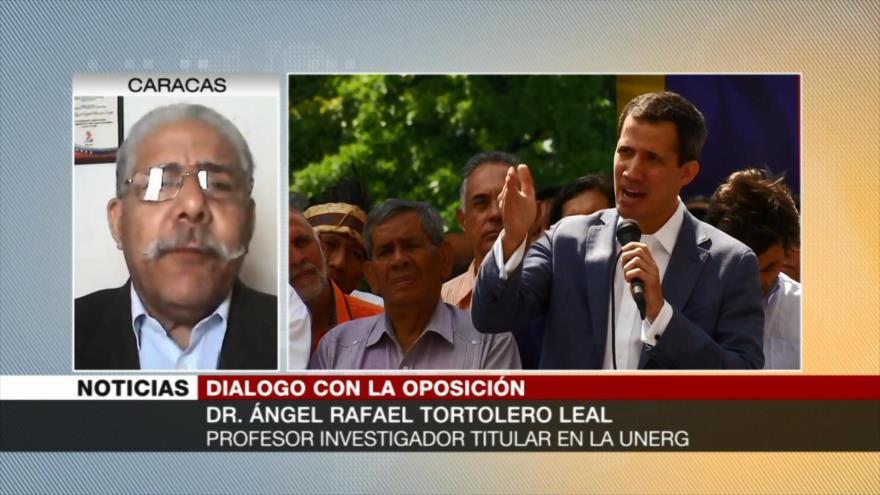 Tortolero Leal: Oposición venezolana trata de sabotear el diálogo