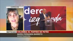 Barreto: Petro, alternativa ganadora en presidenciales de Colombia