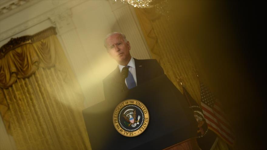 El presidente de EE.UU., Joe Biden, habla con la prensa en la Casa Blanca, 16 de septiembre de 2021. (Foto: AFP)