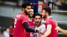 Irán vence a China y es finalista del Campeonato Asiático de Voleibol