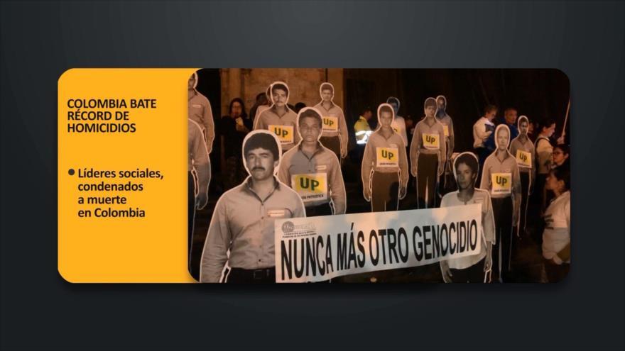 PoliMedios: Colombia bate récord de homicidios