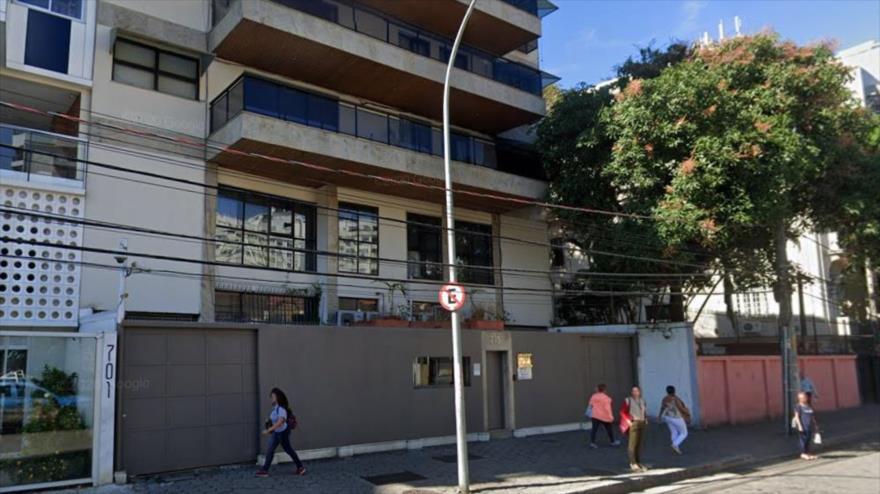 Consulado da China en Rio de Janeiro.