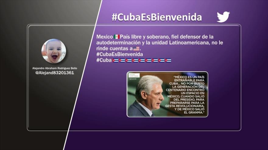 Etiquetaje: Cuba es bienvenida en México