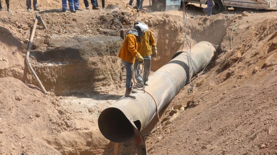 Daesh reivindica ataque a un gaseoducto cerca de la capital siria