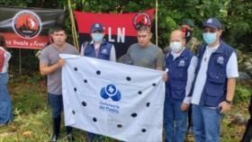 Liberan a dos militares colombianos secuestrados por el ELN