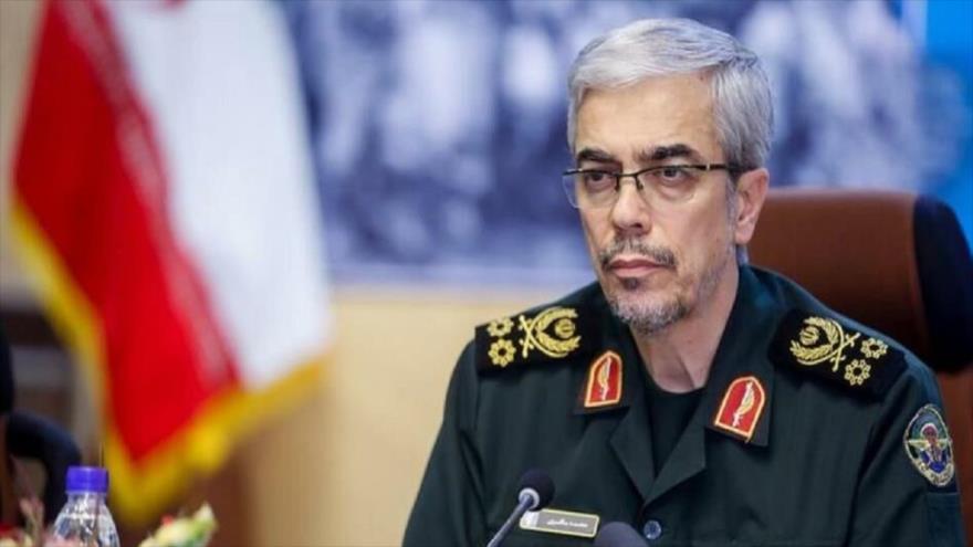 El jefe del Estado Mayor de las Fuerzas Armadas de Irán, el general de división Mohamad Baqeri.